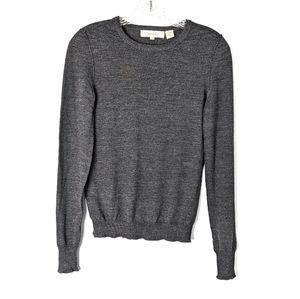 🌵INHABIT Grey Marino Wool Pullover Sweater